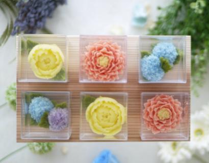 あんこのお花®咲くゼリー画像
