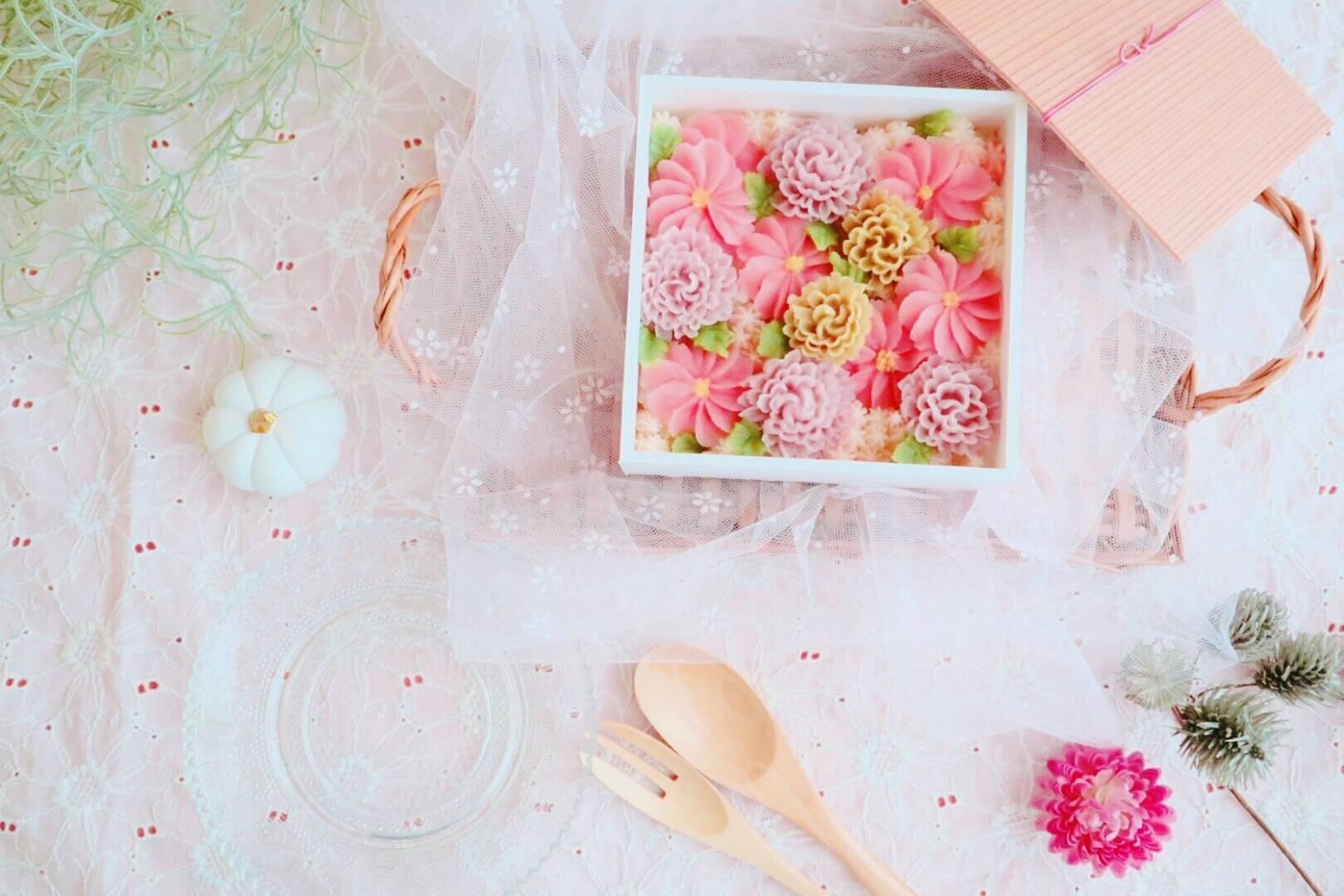 埼玉県 米粉と天然色素のお教室~しゅしゅアイシングクッキー教室~